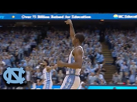 UNC's Kenny Williams Shoots Lights Out vs. Duke