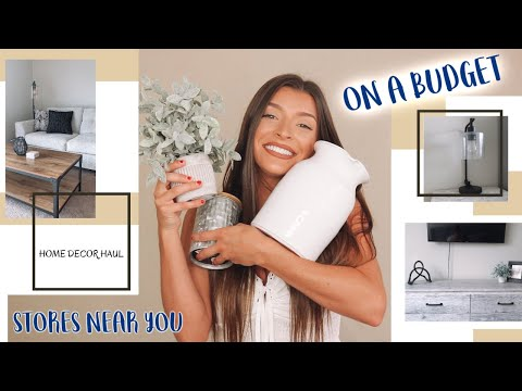 HOME DECOR HAUL ON A BUDGET!! Under $200