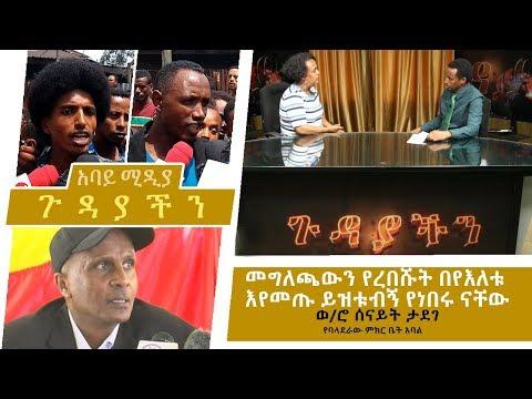 Ethiopia -መግለጫውን የረበሹት በየእለቱ እየመጡ ይዝቱብኝ የነበሩ ናቸው - Baladera Addis Ababa