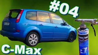 Event-VLOG #40 - Oprava Fordu C-Max - Stříkáme spodek (4/6)