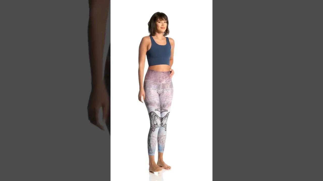 f431180fc5 EVCR Elephant Unity High Waisted 7/8 Yoga Leggings | SwimOutlet.com ...