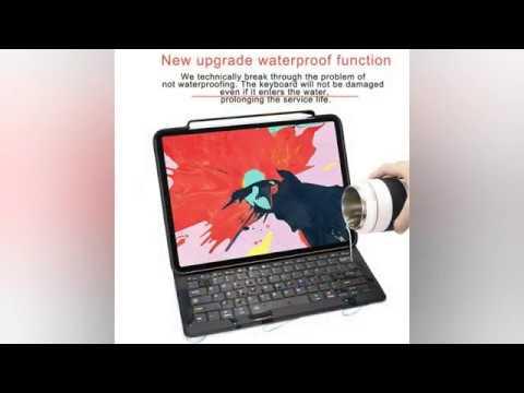 f8ce6beb8fd WOWCASE iPad Pro 11 inch Keyboard Case with Pencil Holder.Less than $44!