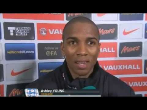 San Marino 0-8 England - Leighton Baines and Ashley Young Interview - 22/03/13