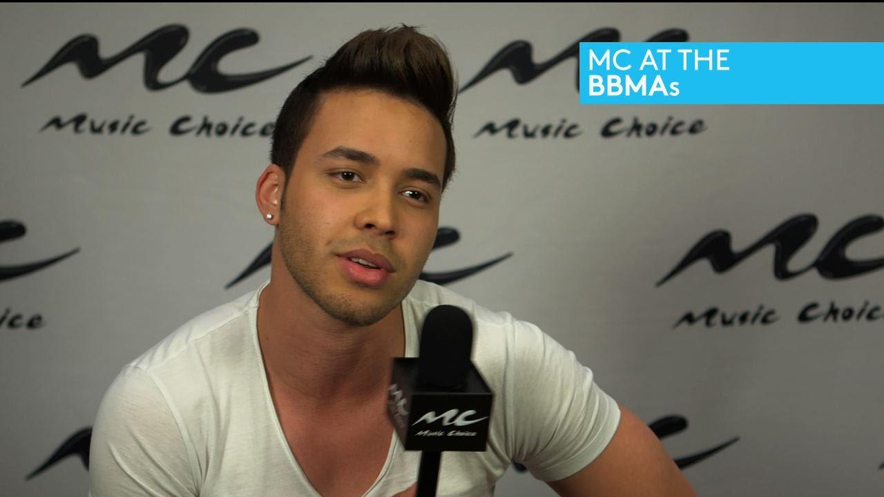 mc at the bbmas: prince royce talks new single and album - youtube