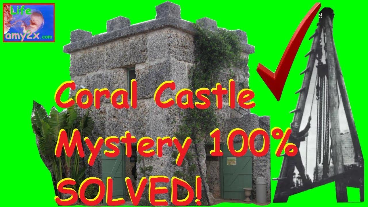 Coral castle mystery black box