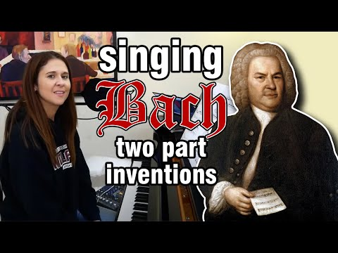 Singing Bach Inventions