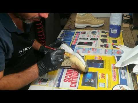 Colorare scarpe in pelle: guida passo passo