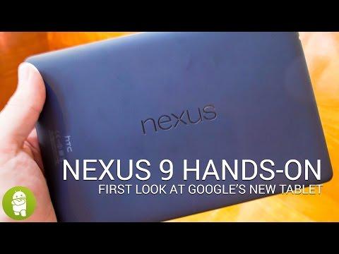 Nexus 9 hands-on