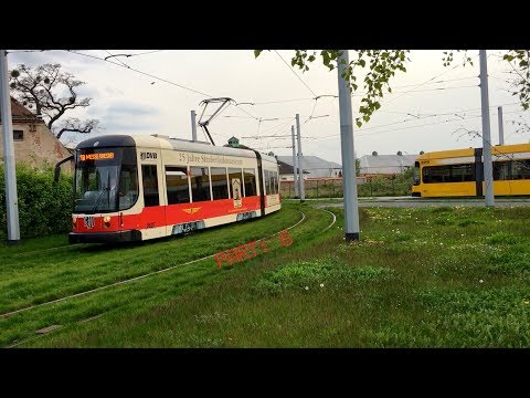 The Dresden tram 2625 / Germany, April 2017 / Part: 6