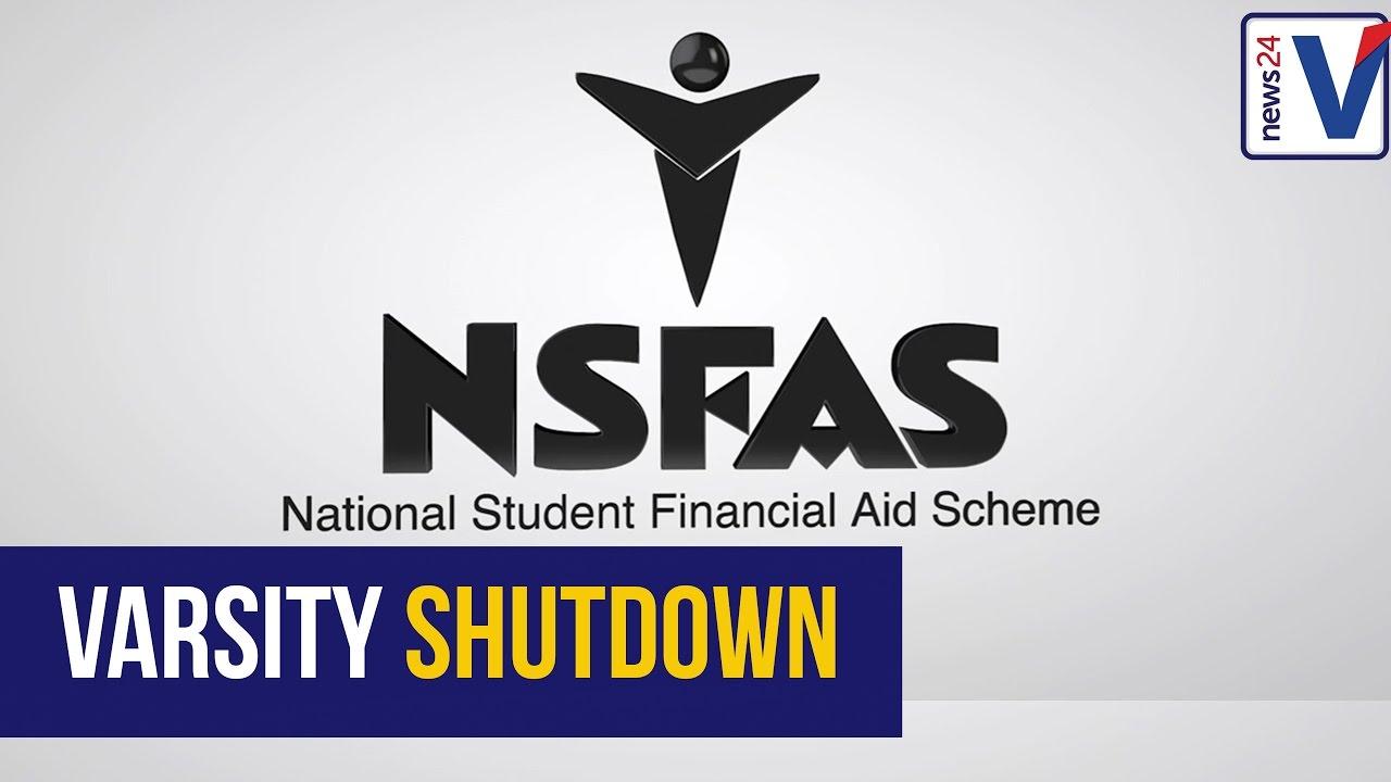Image result for nsfas university shutdown