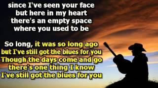 Love Karaoke Still Got the Blues Originally Performed By Gary Moore album