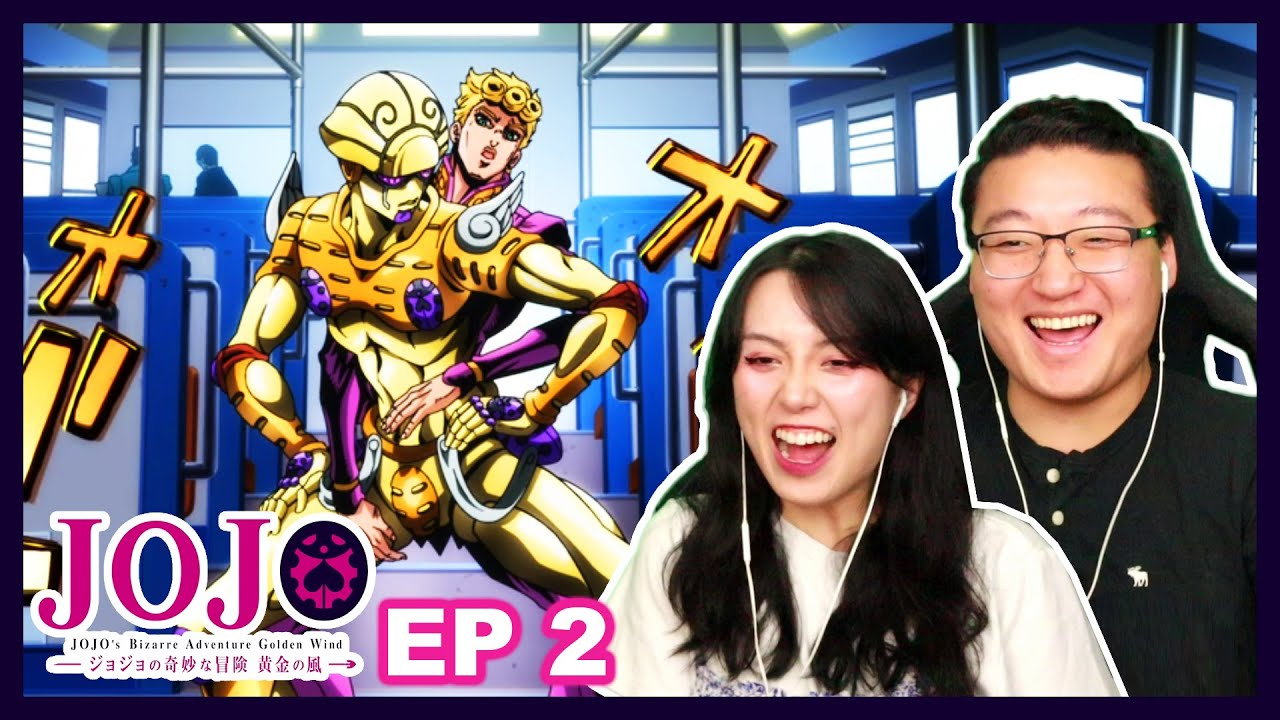 GANG STAR!   Jojo's Bizarre Adventure Golden Wind Couples Reaction Part 5 Episode 2 / 4x2