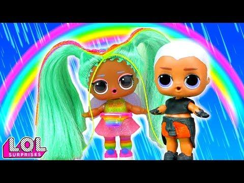 Мария В ШОКЕ! У Витчи новая подружка! Мультик про куклы лол сюрприз LOL Dolls