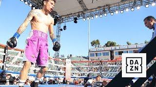 KNOCKOUT   Roger Gutierrez KOs Rocky Hernandez In First Round