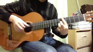 ボサノヴァ ギター伴奏の例 A.C.Jobim「Wave」