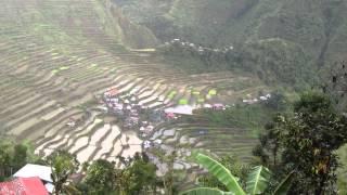 世界遺産、フィリピン・コルディリェーラの棚田群2 【バタッド】