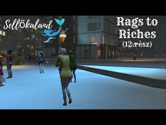 Sellőkaland (12.rész)❄☃ Tél ❄☃/Rags to Riches/Island Living/The sims 4