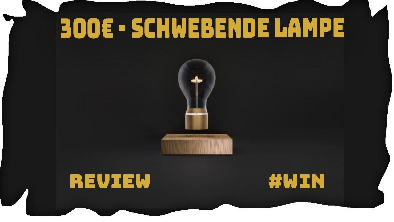 die erste schwebende lampe - flyte royal light review #win - youtube