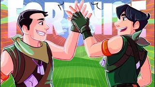 Becoming friends with DrLupo 👏🏻 [Fortnite Funny Moments]