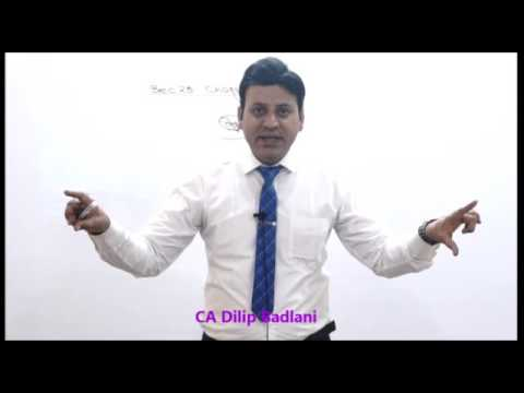 Income Tax : AY 18-19 : PGBP : Lecture 1 : Profit & Gains of Business or Profession