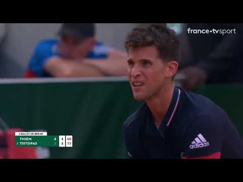 Throwback underrated match off 2018 when Thiem faced Tsitsipas in the 2nd Round of RG. (them groundstrokes)