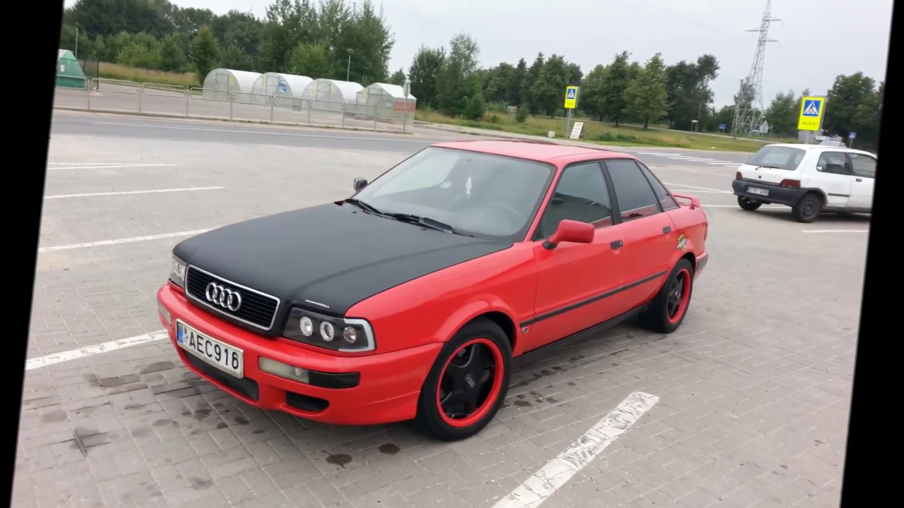 Audi 80 B4 Project Youtube