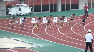 第70回 国民体育大会陸上競技長崎県予選会男子成年 100m