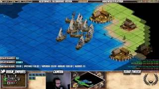Age of empires II - GAME VIEWERS SUR BALTIC ! Ca castagne dur