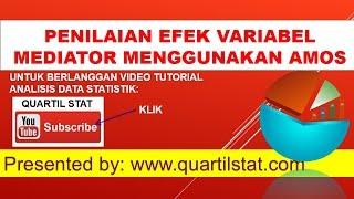 Video TUTORIAL UJI EFEK MEDIASI (MEDIATION EFFECT) SEM MENGGUNAKAN AMOS download MP3, 3GP, MP4, WEBM, AVI, FLV Juli 2018