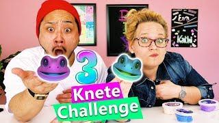 3 Knete Challenge 🐸 Eva vs. Yoshi 🐸 Wer formt den besten Frosch?! DIY KIDS Challenge