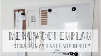 Menüwochenplan + 12 Tipps I My Mealplanning I Essensplanung