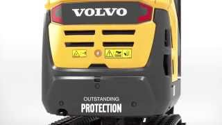 Volvo D-series compact excavators: durable by design