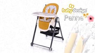 Baby Design Penne. Обзор стульчика для кормления