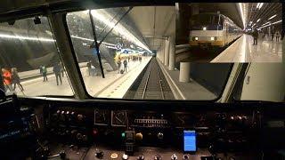 Train Driver's POV Den Haag - Dordrecht SGM 2018 ZO ONTSTAAT VERTRAGING: suicidaal persoon