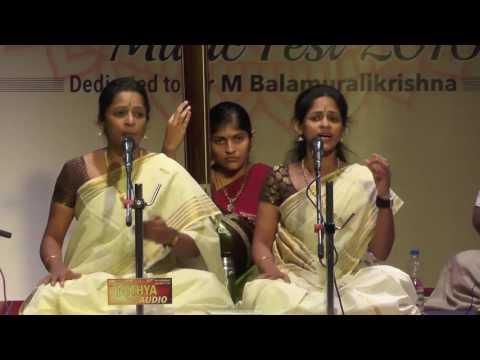 Carnatic Vocal L Akkarai Sisters L Global Heritage Music Fest 2016 L Web Streaming