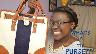 What's in My Purse? Ft. Michael Kors Hamilton Satchel | Summer 2014 Thumbnail