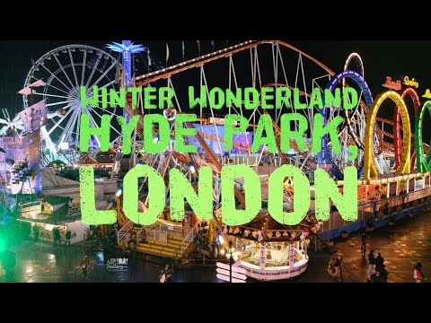 VLOGMAS HYDE PARK LONDON (UK) - Winter Wonderland Travel Myf