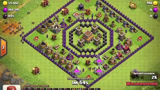 Clash of Clans | Town Hall 8 (Th8) Anti 2 Stern Base | Best Trophy Base + RAPLAYS 2018!