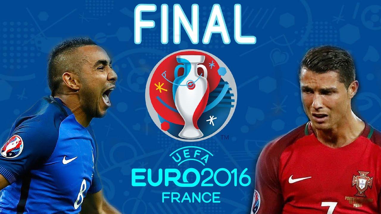 uefa euro 2016 finale france vs portugal pes 16 gameplay full match hd youtube. Black Bedroom Furniture Sets. Home Design Ideas