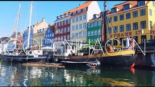 Copenhagen Denmark | 4k Travel Video