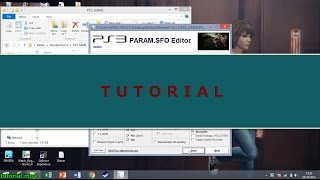 Tutorial edit game ps3 untuk Ode