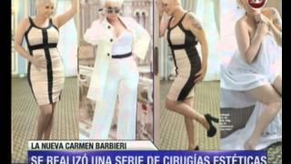 Canal 26 -Carmen Barbieri mostró su nuevo cuerpo al desnudo