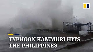 The Philippines Evacuates More Than 200,000 People Ahead Of Typhoon Kammuri