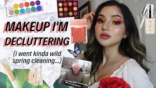 MAKEUP I'M DECLUTTERING + why ✰ a kinda shocking spring-cleaning beauty declutter