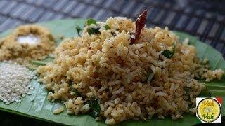 Sesame Seed Rice - Til Rice - By Vahchef @ vahrehvah.com