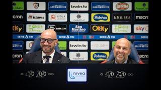 La conferenza stampa di presentazione di mister Zenga
