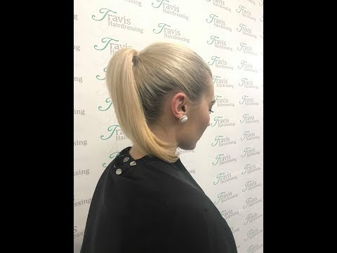 "Style Tips: How to do a ""proper"" ponytail"