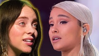 Billie Eilish Reaction To Ariana Grande Text Is Priceless VIDEO