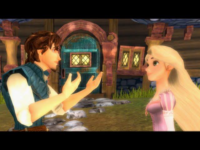 Enredados Pelicula Completa En Espanol Del Videojuego Rapunzel Disney Gameplay Youtube