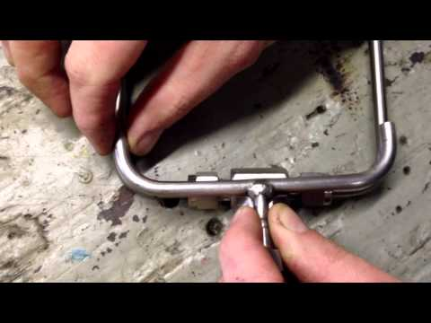 Creating a custom 316 Stainless Steel tubing with compression and flare fittings.